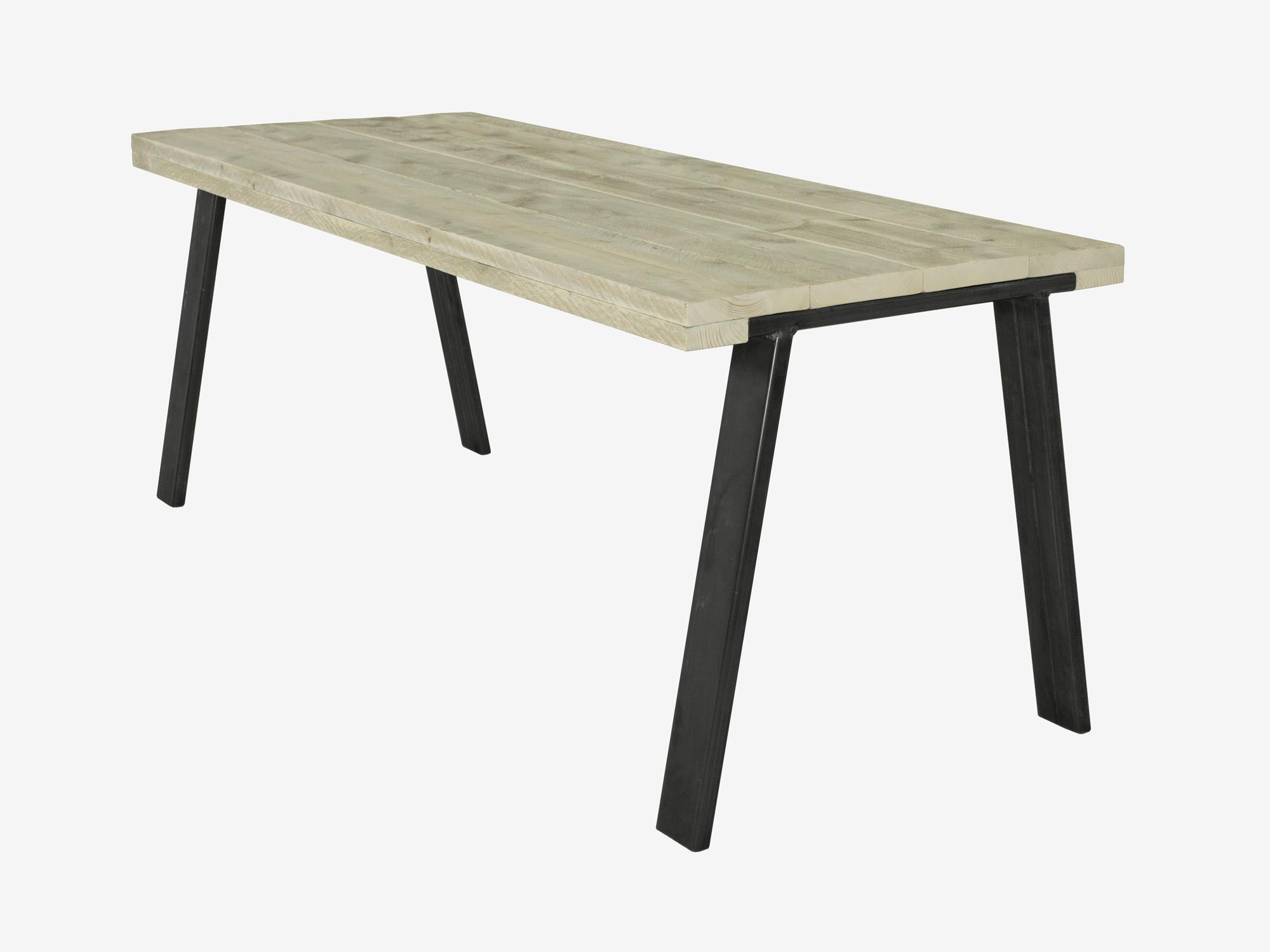 Eiken Tafel Schoonmaken : Witte houten tafel schoonmaken eetkamerstoel tryck van zuiver bij
