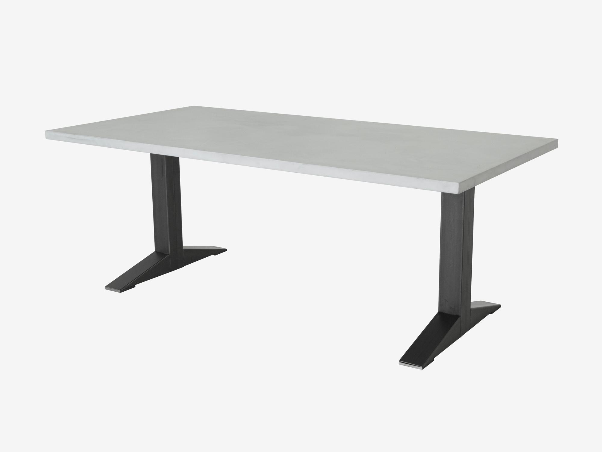 Tafel betonlook geven cheap qazqa industriele eettafel xx