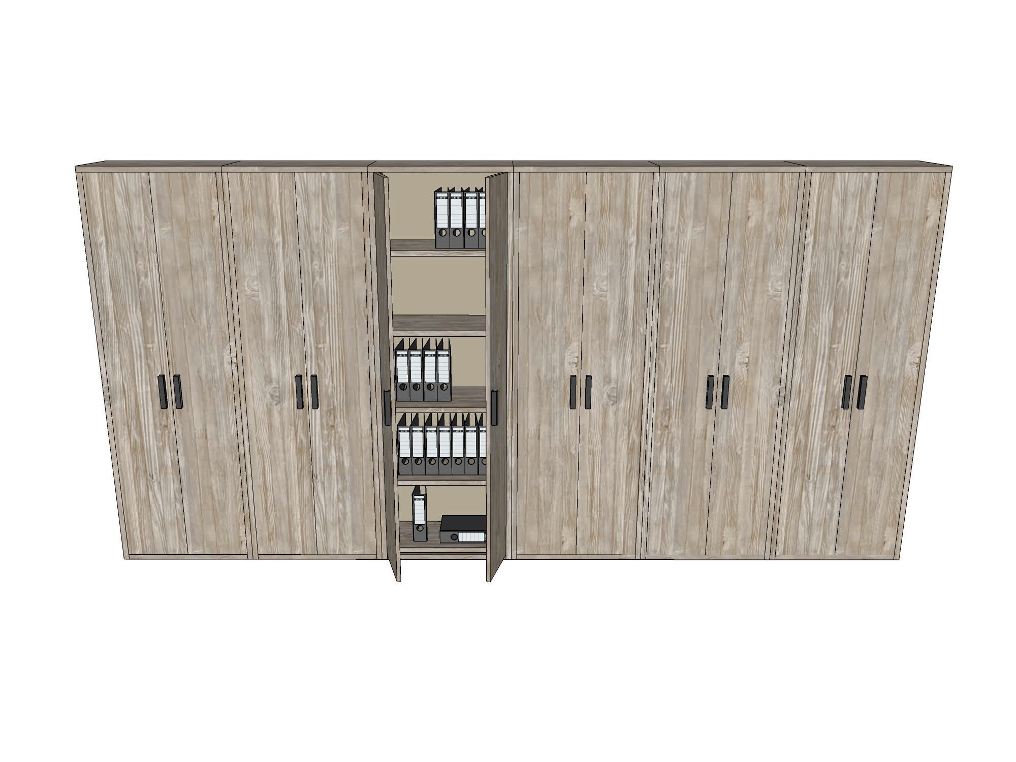 Kantoorkasten / kastenwand
