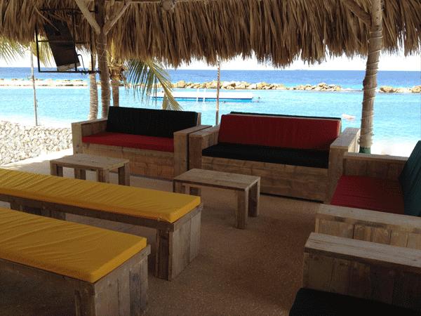 Terrassen Wet & Wild Curacao