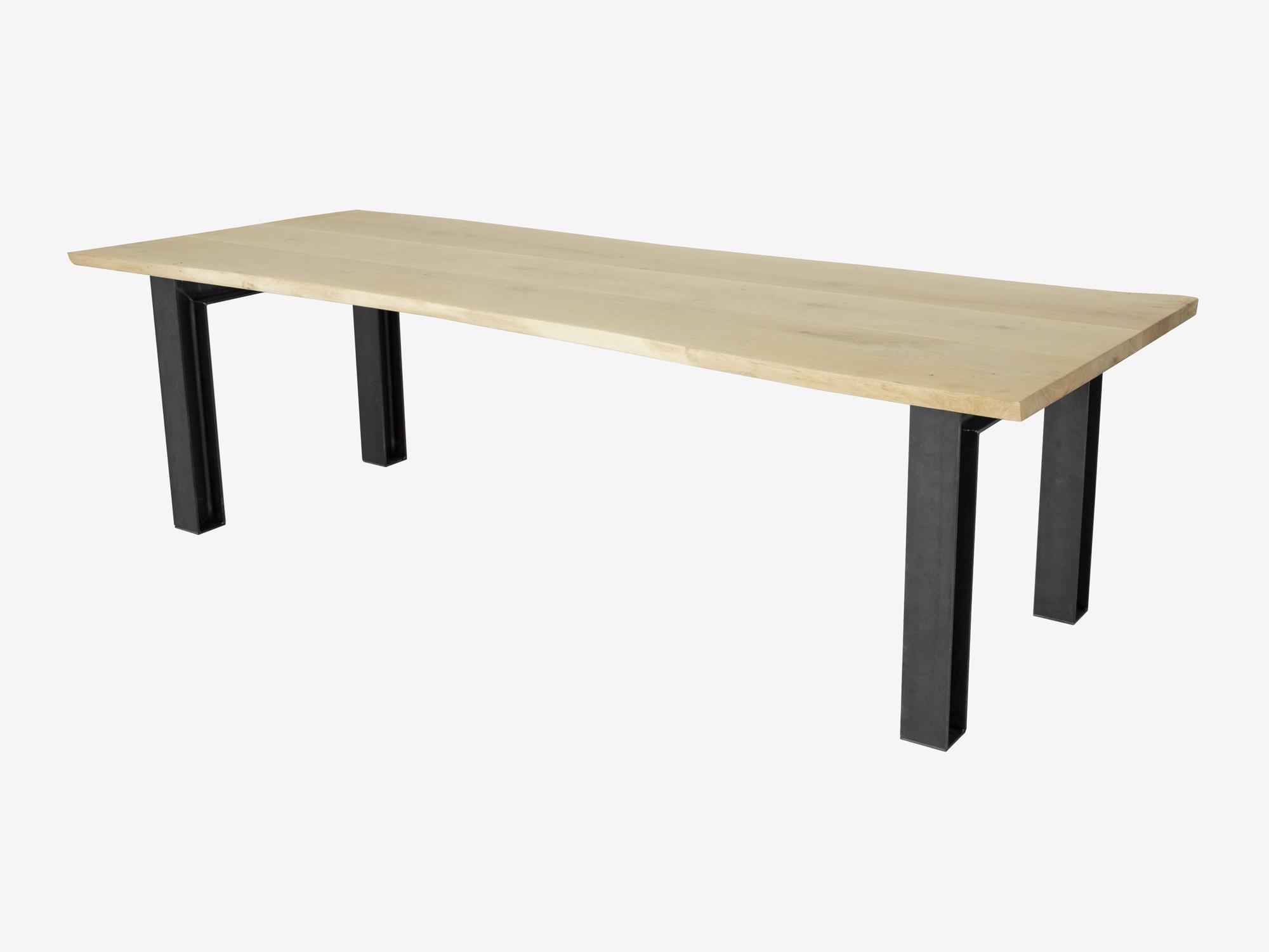 Tafel Van Boomstam : Boomstam tafel bernt op maat gemaakt fØrn meubelen