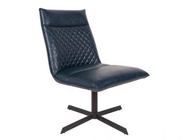 Zuiver fauteuil Ivar donker Blauw