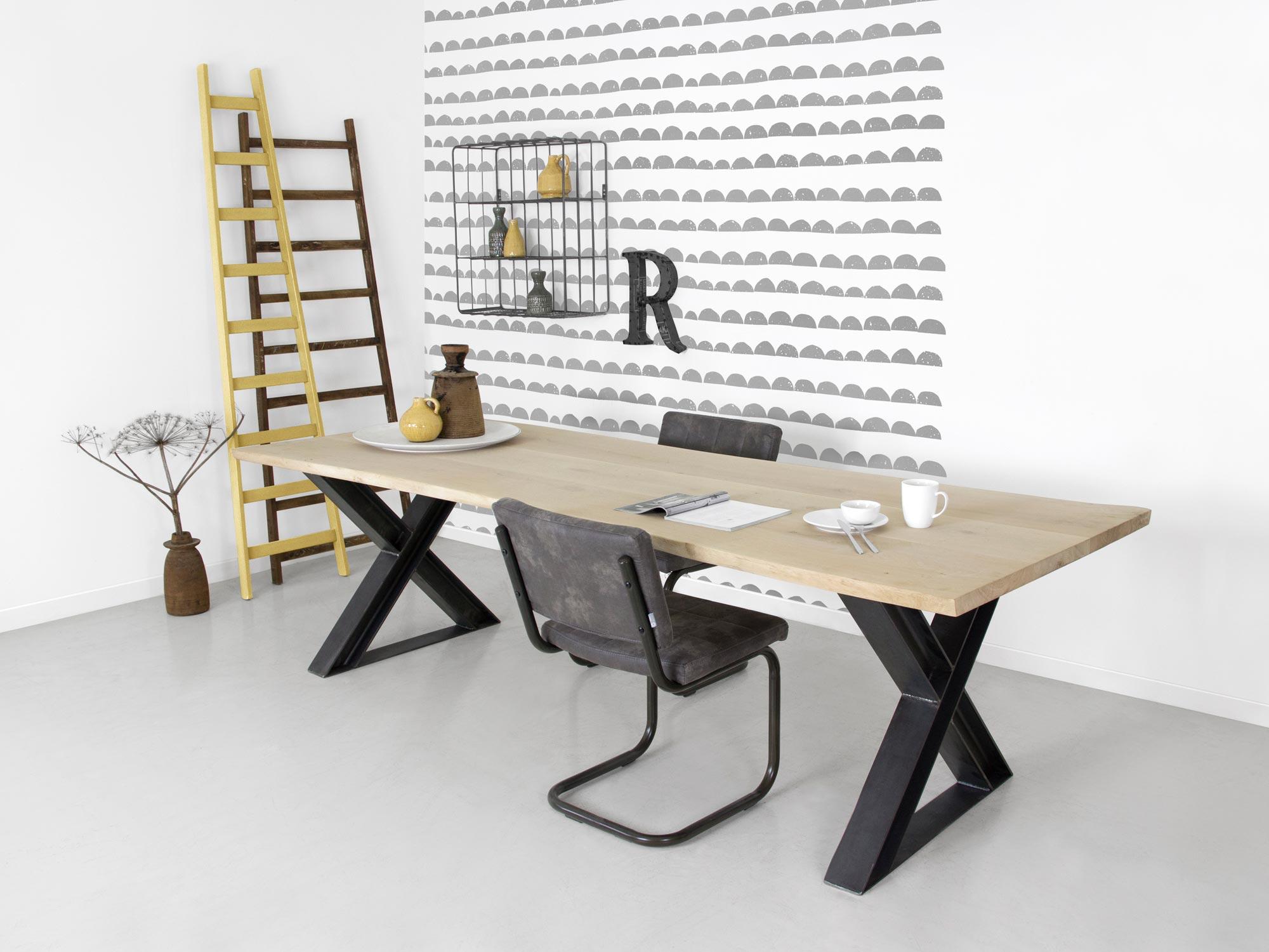 Tafel Van Boomstam : Boomstam tafel xavi op maat gemaakt fØrn meubelen